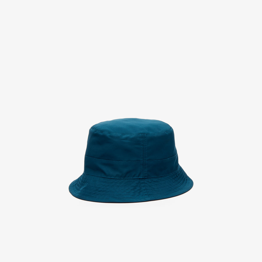 Women's Reversible Waterproof Bucket Hat--Navy Blue/Wheelwright