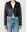 Cropped Moto Leather Jacket For Women
