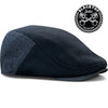 The 'Blacktop' Boston Scally Cap - Black