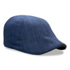 The 'Hustle' Boston Scally Cap - Blue Moon