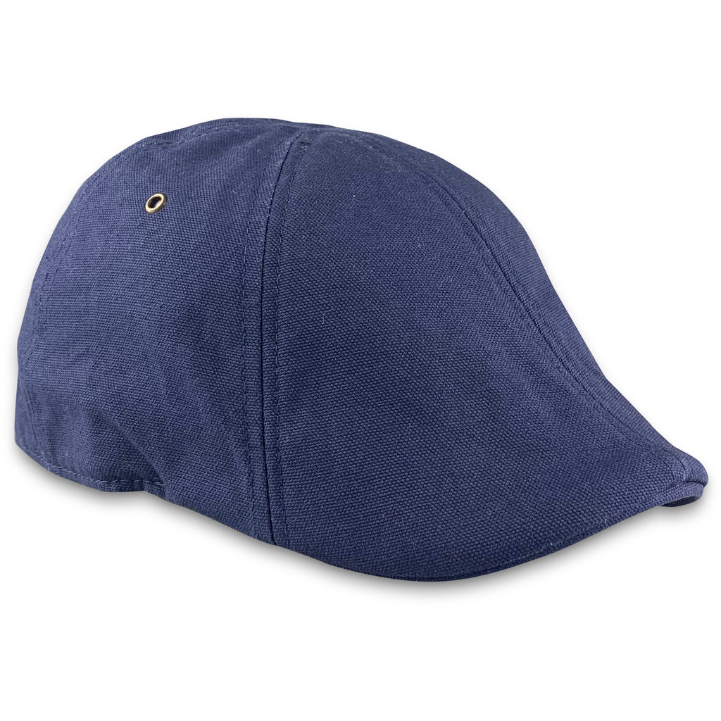 'The Worker' Boston Scally Cap - Navy