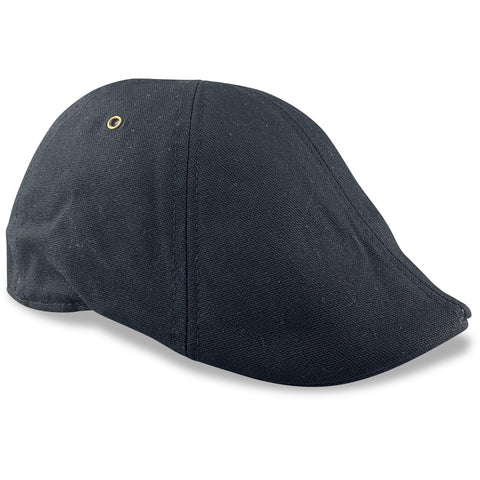 'The Worker' Boston Scally Cap - Black