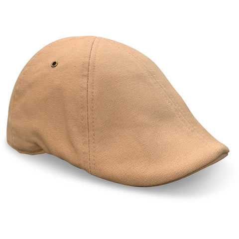 'The Worker' Scally Cap - Craft Tan