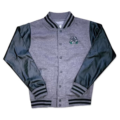 'Black Rose' Varsity Jacket