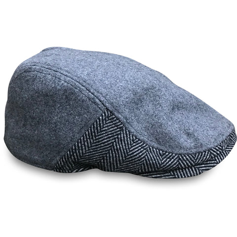 'The Legacy' Boston Scally Cap - Allston Grey