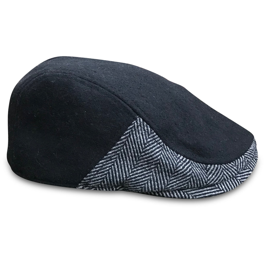 'The Legacy' Boston Scally Cap - Coolidge Black