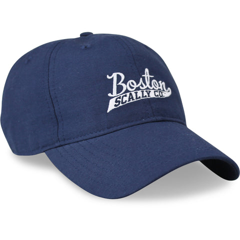 Boston Scally Summer Baseball Cap - Navy