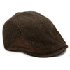 The Brawler Scally Cap Brown Boston Scally Co