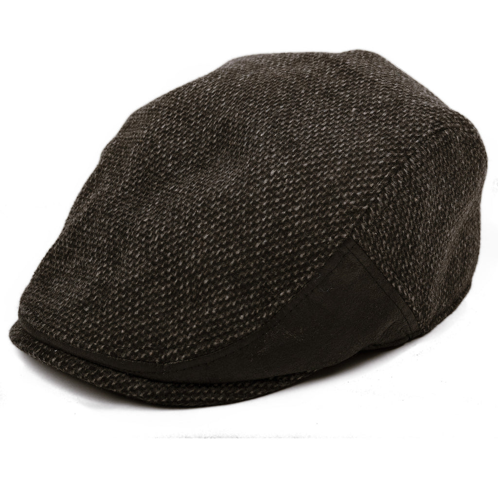 'The Brawler' Scally Cap- Black