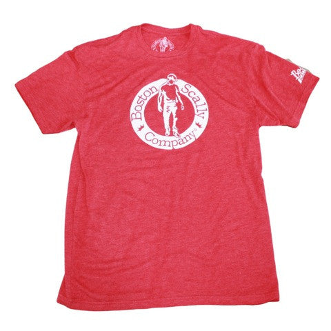 Boston Scally Tee-Red