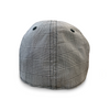 The 'Plaid Trainer' Boston Scally Cap - Light Grey & Black