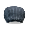 The 'SPEAKEASY' Boston Scally Cap - Black