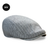 The 'SPEAKEASY' Boston Scally Cap - Grey