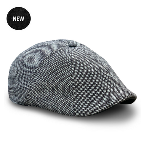 The 'Peaky' Boston Scally Cap - Iron & Gravel