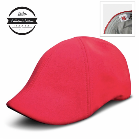 'The Teddy' Scally Cap - Red *PRE-ORDER*