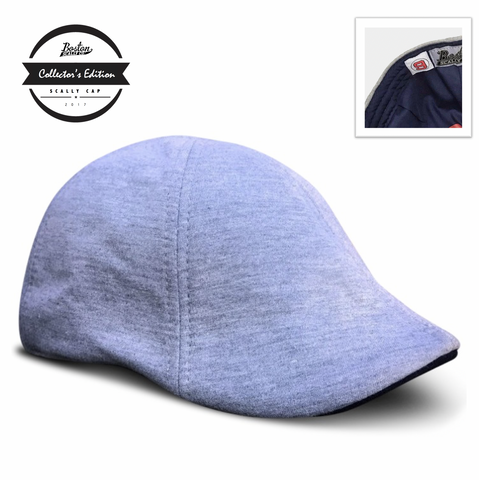'The Teddy' Scally Cap - Grey