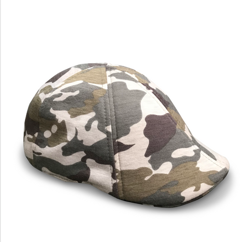 *NEW* 'The Responder' Scally Cap - Military - Camouflage