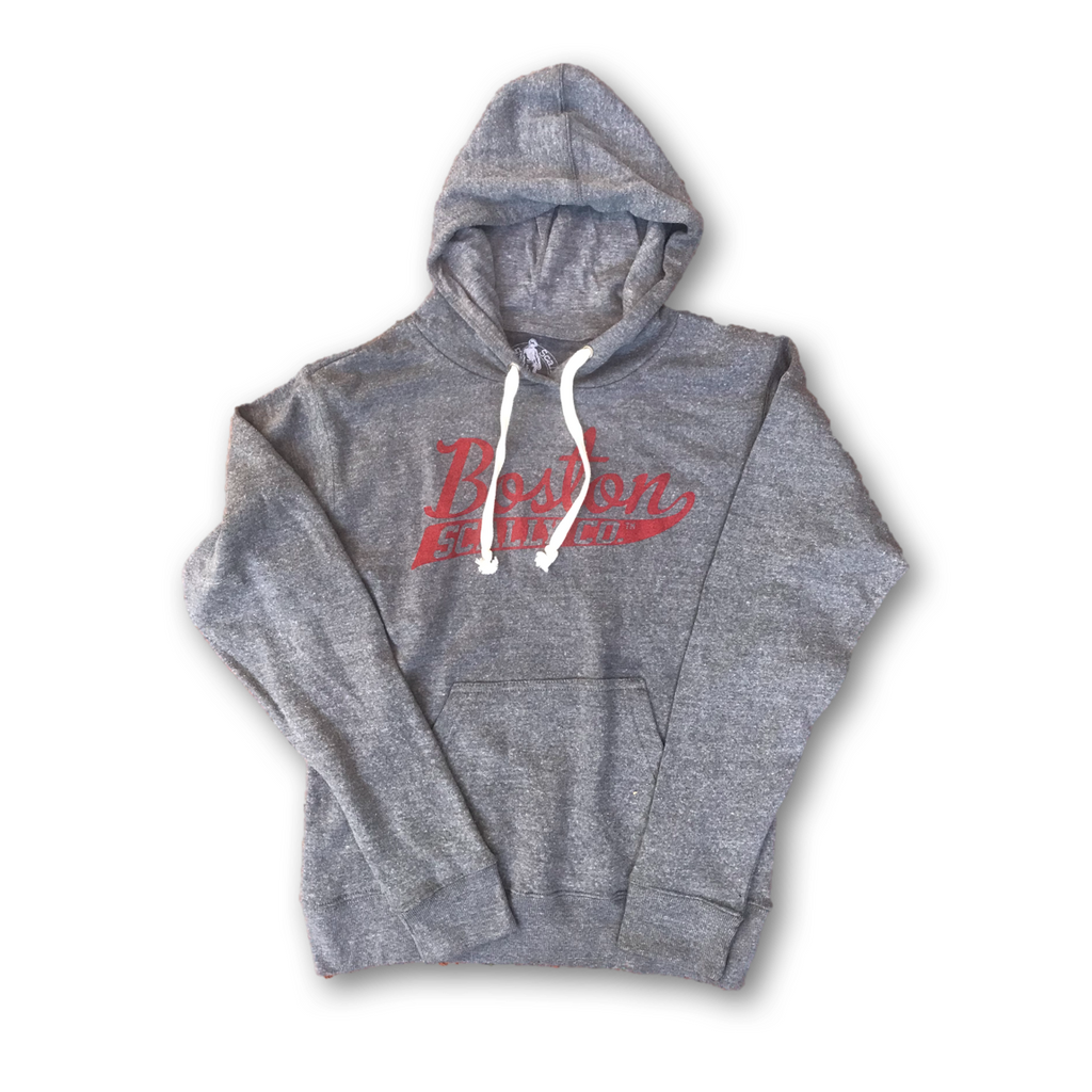 Boston Scally Co. Grey Hoodie