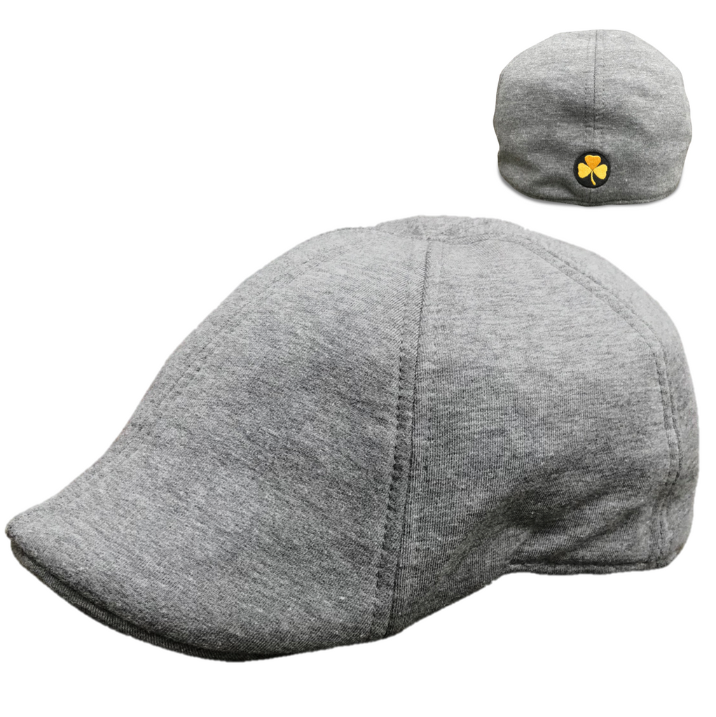 'The Bruin Dubliner' Scally Cap - Grey