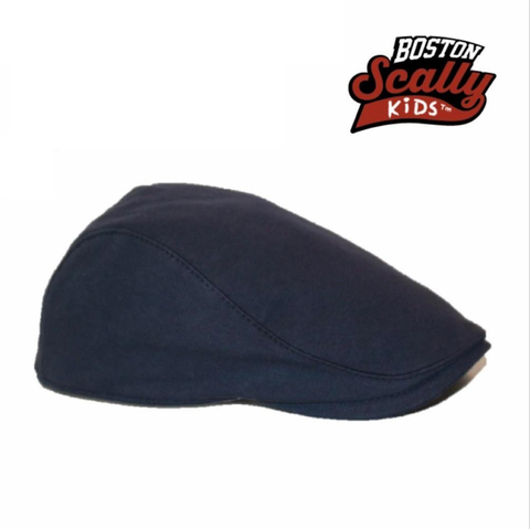 Boston Scally Kids Townie Cap - Blue