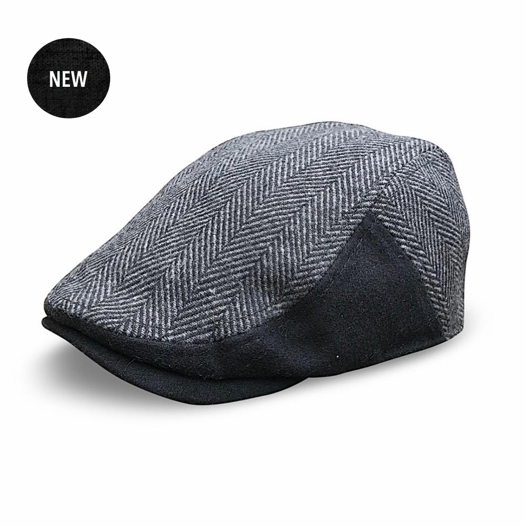 'The Classic' Scally Cap - Black