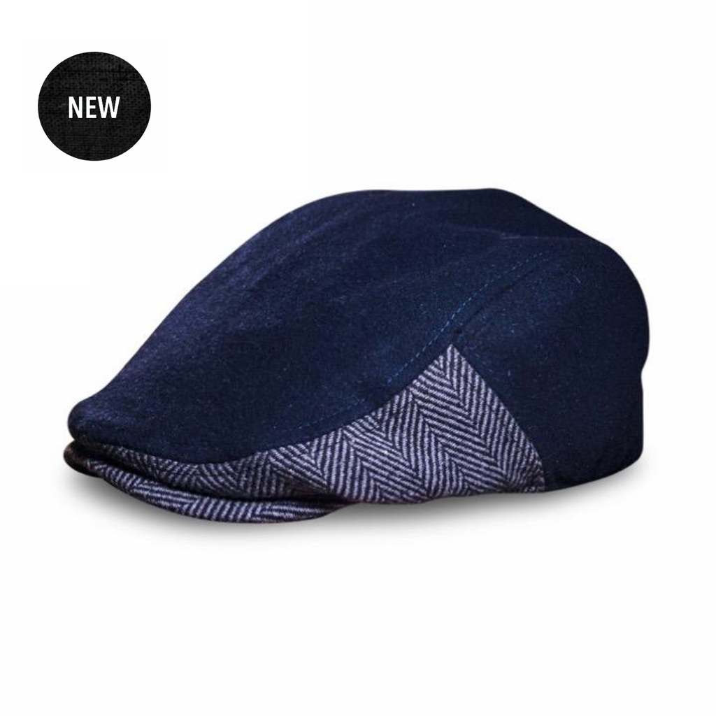 'The Legacy' Boston Scally Cap - Charlestown Blue