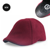 'The Kenmore' Scally Cap - Crimson with Black Brim