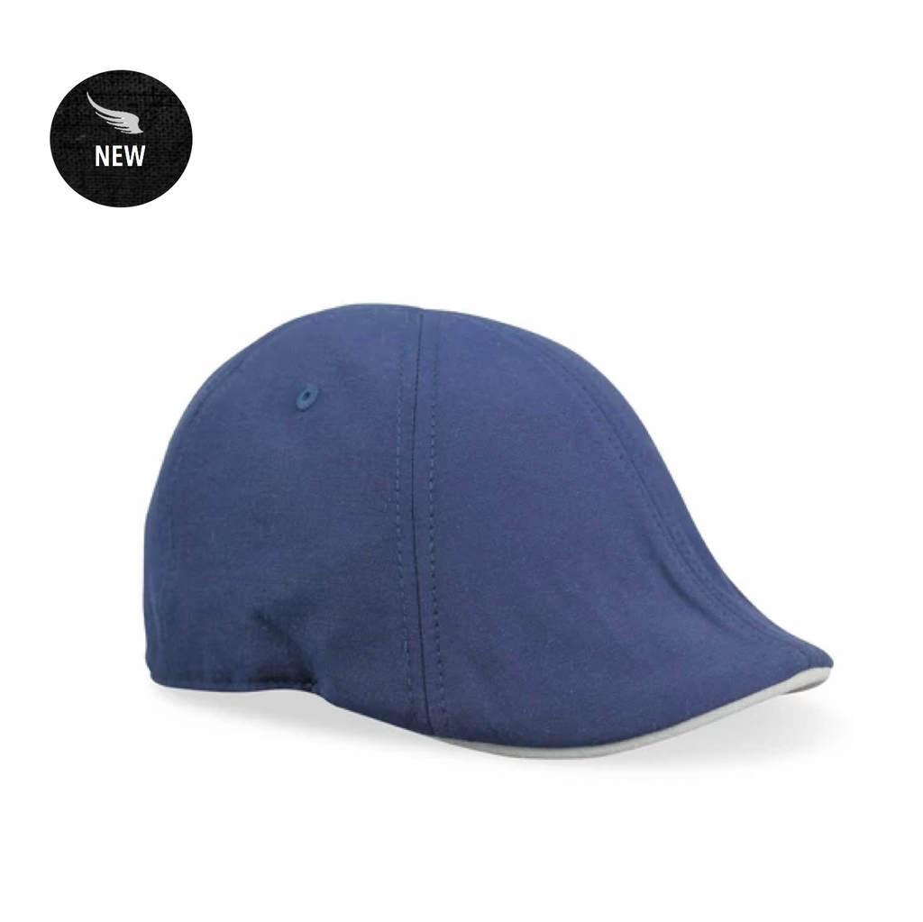 'The Trainer' Scally Cap - Navy