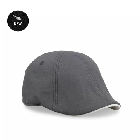'The Trainer' Scally Cap - Black