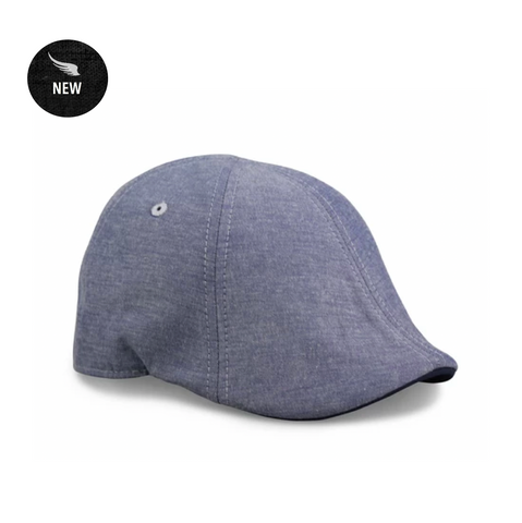 'The Trainer' Scally Cap - Light Blue