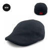 'The Responder' Black Scally Cap - Fire