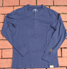 The 'Worker' Henley-Blue