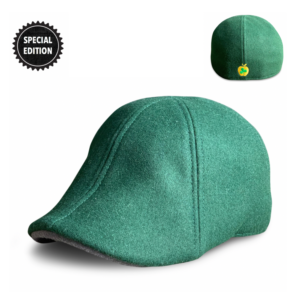 'The Equation' Boston Scally Cap - Them Apples Green