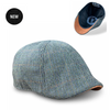 'The Homage' Clover & Navy Houndstooth Scally Cap