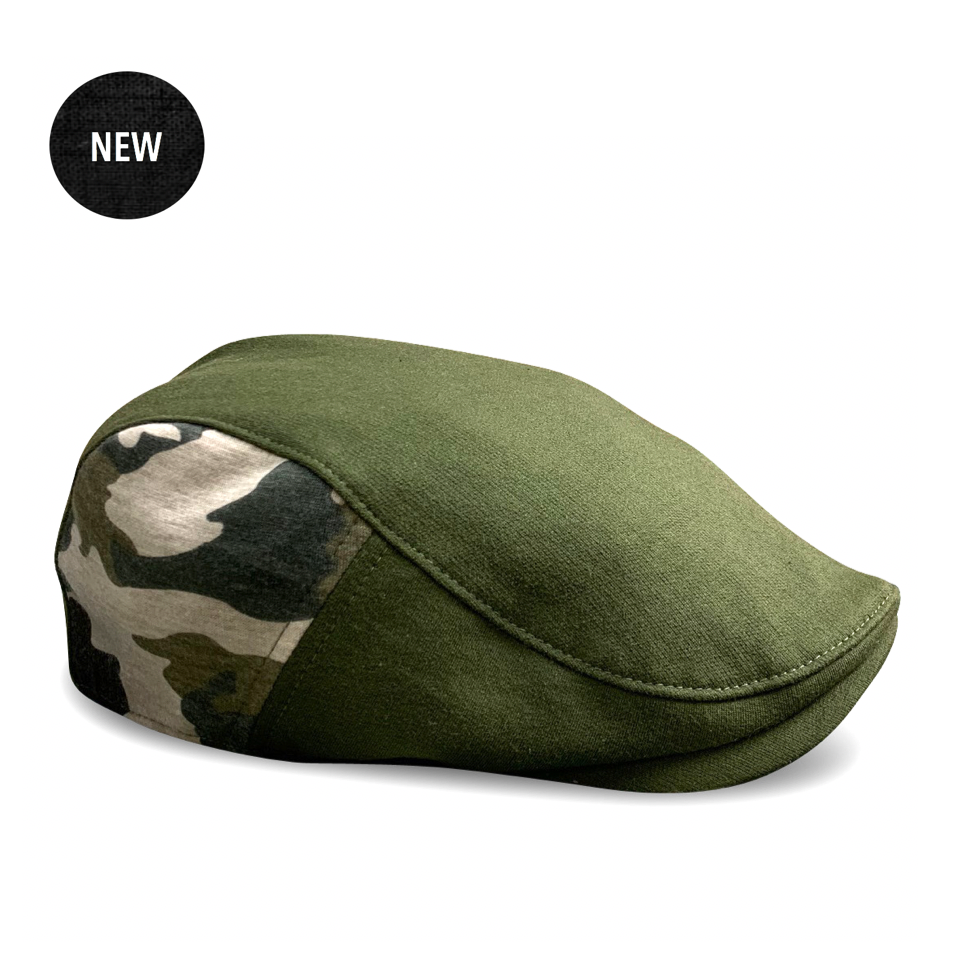 *NEW* 'The Responder' Military - Single Panel Cap - Green/Camo