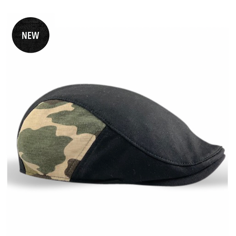 *NEW* 'The Responder' Military - Single Panel Cap - Black/Camo