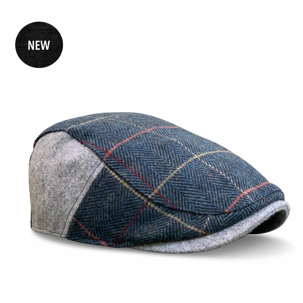 'The Whiskey' Royal Wheat Plaid Boston Scally Cap