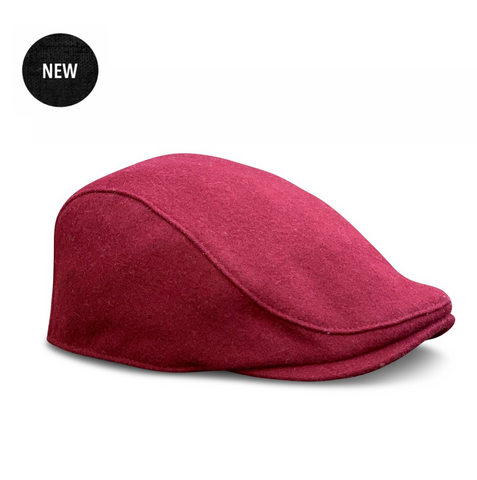 The 'Neighborhood' Boston Scally Cap - Cambridge Crimson