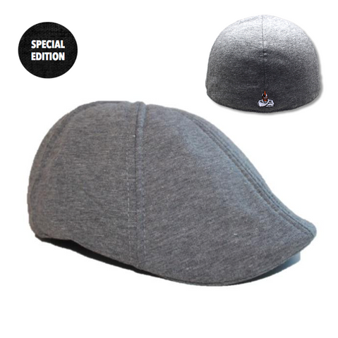 Brave Change x Boston Scally Cap - Old School Grey