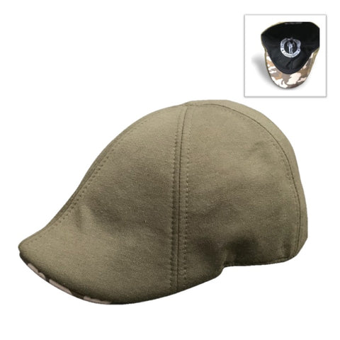 *NEW* 'The Responder' Scally Cap- Military- Army Green