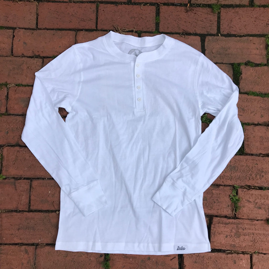 Boston Scally Henley - White