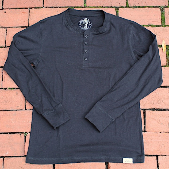Boston Scally Henley - Black