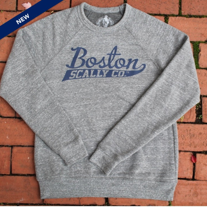 Boston Scally Game Day Crewneck - Patriot Grey