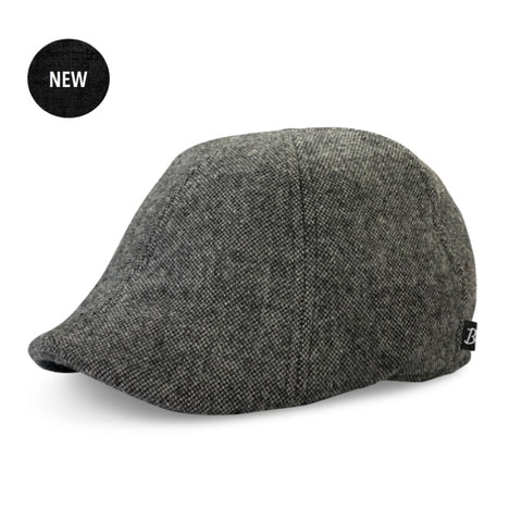 The 'Bareknuckle' - Charcoal & Slate Boston Scally Cap