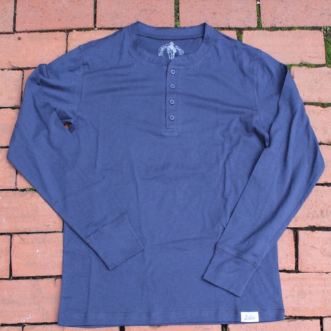Boston Scally Henley - Blue