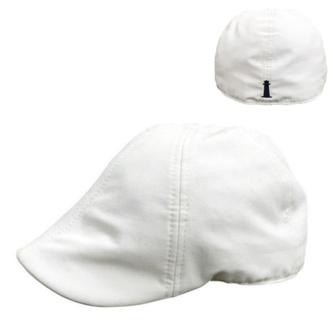 *NEW* 'The Cape Codder' Lighthouse Scally Cap- White Sand