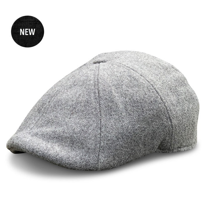 'The Peaky' Boston Scally Cap - Allston Grey
