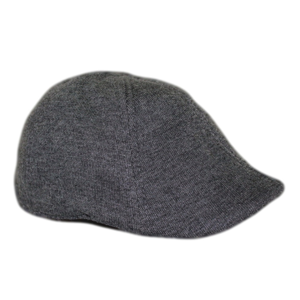 'The Scrapper' Scally Cap-Charcoal