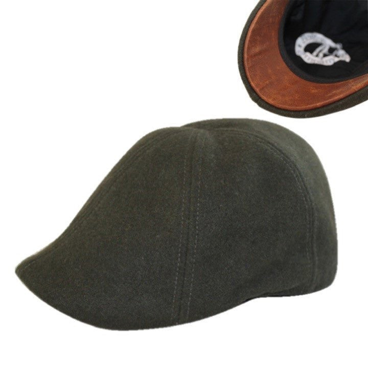 'The Kenmore' Scally Cap - Hunter Green