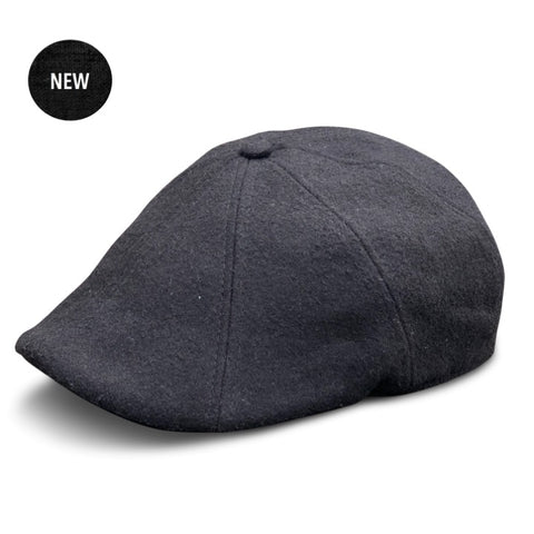 'The Peaky' Boston Scally Cap - Coolidge Black